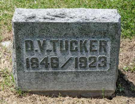 TUCKER, D V - Richland County, Ohio | D V TUCKER - Ohio Gravestone Photos