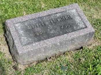 TUCKER, EDITH - Richland County, Ohio | EDITH TUCKER - Ohio Gravestone Photos