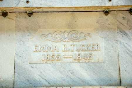 TUCKER, EMMA R - Richland County, Ohio | EMMA R TUCKER - Ohio Gravestone Photos
