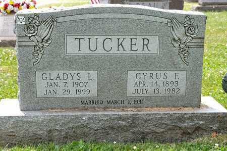 TUCKER, GLADYS L - Richland County, Ohio | GLADYS L TUCKER - Ohio Gravestone Photos