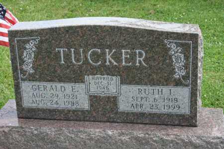 TUCKER, GERALD E - Richland County, Ohio | GERALD E TUCKER - Ohio Gravestone Photos