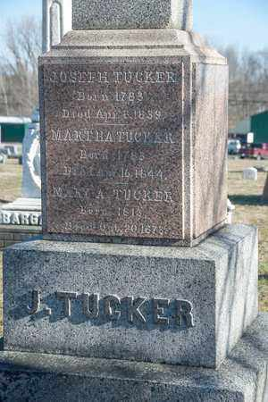 TUCKER, MARTHA - Richland County, Ohio | MARTHA TUCKER - Ohio Gravestone Photos