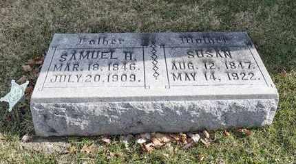 TUCKER, SAMUEL H - Richland County, Ohio | SAMUEL H TUCKER - Ohio Gravestone Photos