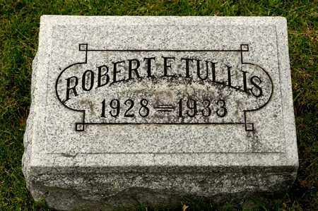 TULLIS, ROBERT E - Richland County, Ohio | ROBERT E TULLIS - Ohio Gravestone Photos