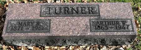 TURNER, ARTHUR W - Richland County, Ohio | ARTHUR W TURNER - Ohio Gravestone Photos