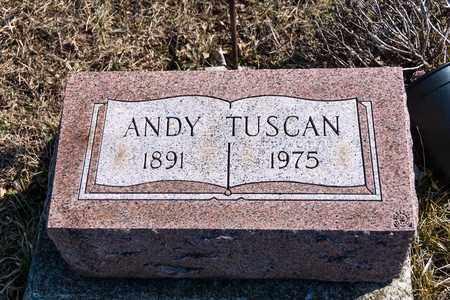 TUSCAN, ANDY - Richland County, Ohio   ANDY TUSCAN - Ohio Gravestone Photos