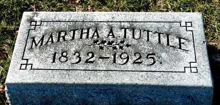 TUTTLE, MARTHA A - Richland County, Ohio | MARTHA A TUTTLE - Ohio Gravestone Photos