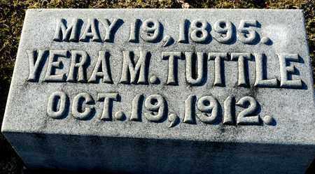 TUTTLE, VERA M - Richland County, Ohio   VERA M TUTTLE - Ohio Gravestone Photos