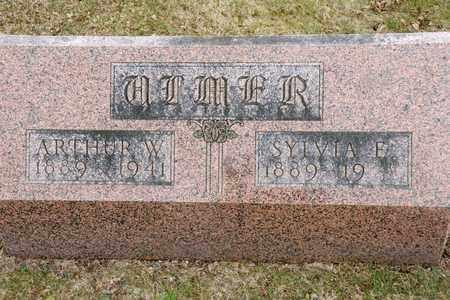 ULMER, ARTHUR W - Richland County, Ohio | ARTHUR W ULMER - Ohio Gravestone Photos