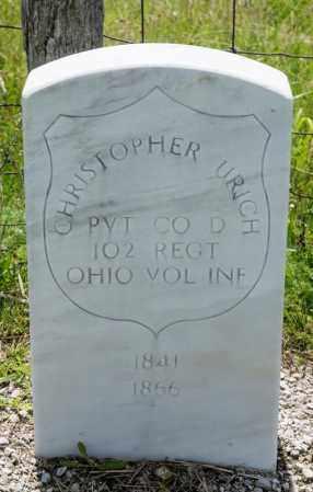 URICH, CHRISTOPHER - Richland County, Ohio | CHRISTOPHER URICH - Ohio Gravestone Photos