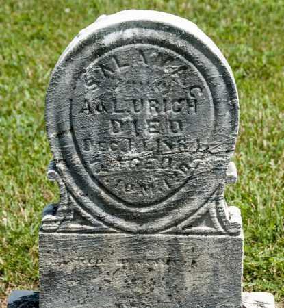 URICH, SALAMAC - Richland County, Ohio   SALAMAC URICH - Ohio Gravestone Photos