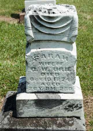 NOECKER URICH, SARAH - Richland County, Ohio | SARAH NOECKER URICH - Ohio Gravestone Photos