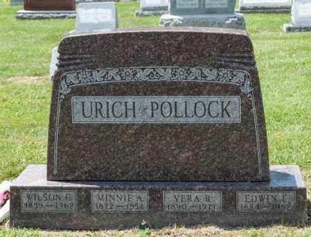 POLLOCK, EDWIN E - Richland County, Ohio | EDWIN E POLLOCK - Ohio Gravestone Photos