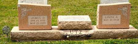 UTZ, JAMES D - Richland County, Ohio   JAMES D UTZ - Ohio Gravestone Photos
