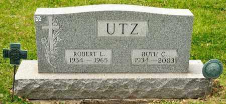 UTZ, RUTH C - Richland County, Ohio | RUTH C UTZ - Ohio Gravestone Photos