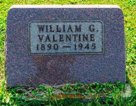VALENTINE, WILLIAM G - Richland County, Ohio | WILLIAM G VALENTINE - Ohio Gravestone Photos