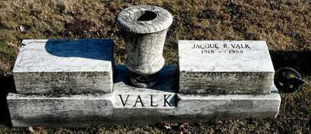 VALK, JACQUE R - Richland County, Ohio | JACQUE R VALK - Ohio Gravestone Photos