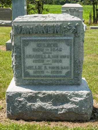 VAN AKEN, AHABELA A - Richland County, Ohio | AHABELA A VAN AKEN - Ohio Gravestone Photos