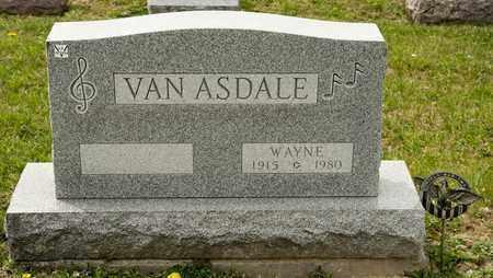 VAN ASDALE, WAYNE - Richland County, Ohio | WAYNE VAN ASDALE - Ohio Gravestone Photos