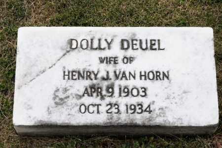 VAN HORN, DOLLY - Richland County, Ohio   DOLLY VAN HORN - Ohio Gravestone Photos