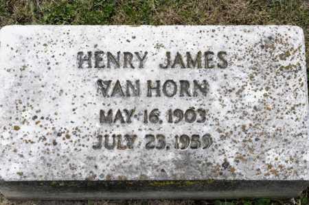 VAN HORN, HENRY JAMES - Richland County, Ohio | HENRY JAMES VAN HORN - Ohio Gravestone Photos
