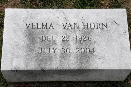 VAN HORN, VELMA - Richland County, Ohio | VELMA VAN HORN - Ohio Gravestone Photos