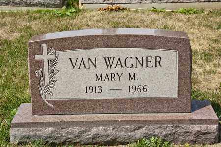 VAN WAGNER, MARY M - Richland County, Ohio | MARY M VAN WAGNER - Ohio Gravestone Photos