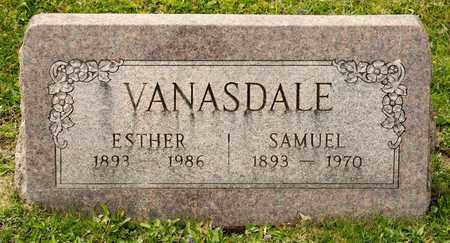 VANASDALE, SAMUEL - Richland County, Ohio   SAMUEL VANASDALE - Ohio Gravestone Photos