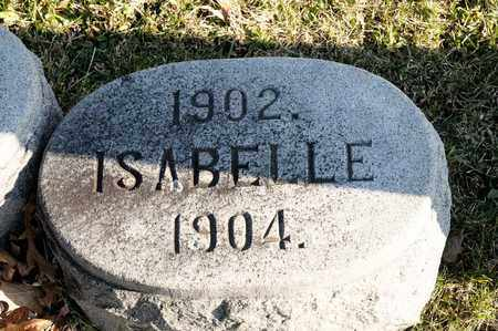 VANASDALE, ISABELLE - Richland County, Ohio | ISABELLE VANASDALE - Ohio Gravestone Photos