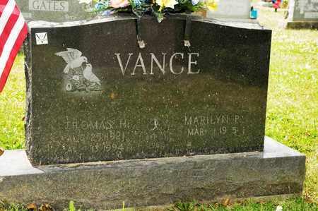 VANCE, THOMAS H - Richland County, Ohio | THOMAS H VANCE - Ohio Gravestone Photos