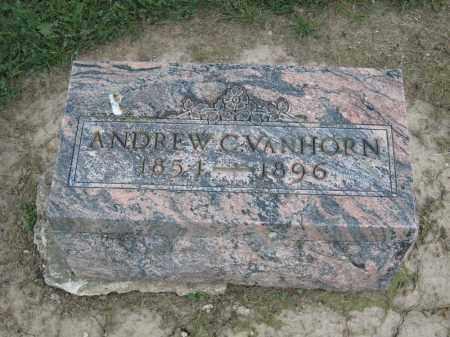 VANHORN, ANDREW C - Richland County, Ohio   ANDREW C VANHORN - Ohio Gravestone Photos