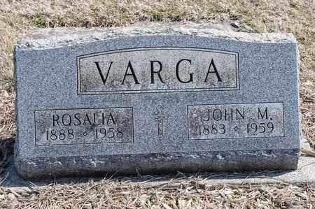VARGA, JOHN M - Richland County, Ohio | JOHN M VARGA - Ohio Gravestone Photos