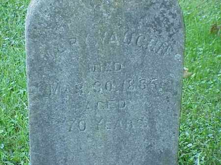 VAUGHN, MARY - Richland County, Ohio   MARY VAUGHN - Ohio Gravestone Photos