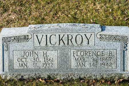 VICKROY, FLORENCE B - Richland County, Ohio | FLORENCE B VICKROY - Ohio Gravestone Photos