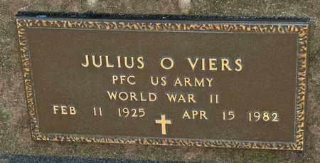 VIERS, JULIUS O - Richland County, Ohio | JULIUS O VIERS - Ohio Gravestone Photos