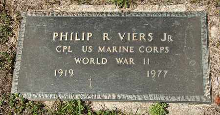 VIERS JR, PHILIP R - Richland County, Ohio | PHILIP R VIERS JR - Ohio Gravestone Photos