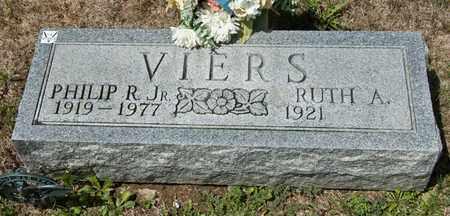 VIERS JR, PHILIP R - Richland County, Ohio | PHILIP R VIERS JR - Ohio Gravestone Photos