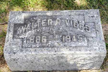 VIERS, WALTER P - Richland County, Ohio | WALTER P VIERS - Ohio Gravestone Photos