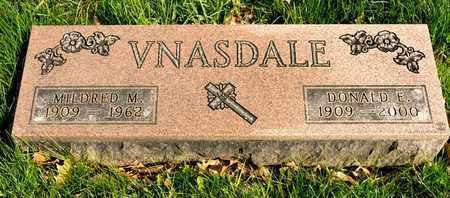 VNASDALE, MILDRED M - Richland County, Ohio | MILDRED M VNASDALE - Ohio Gravestone Photos