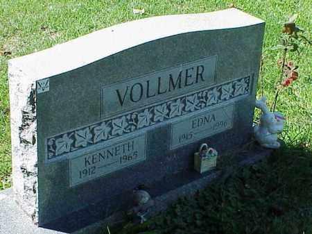 VOLLMER, EDNA - Richland County, Ohio | EDNA VOLLMER - Ohio Gravestone Photos