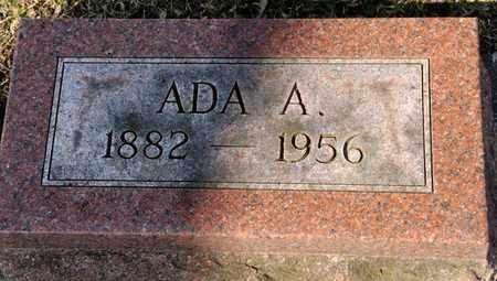 WAGNER, ADA A - Richland County, Ohio | ADA A WAGNER - Ohio Gravestone Photos