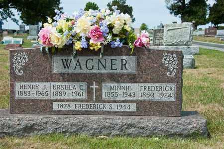 WAGNER, MINNIE - Richland County, Ohio | MINNIE WAGNER - Ohio Gravestone Photos