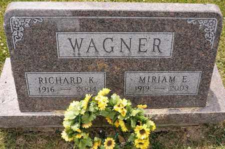 WAGNER, RICHARD K - Richland County, Ohio   RICHARD K WAGNER - Ohio Gravestone Photos