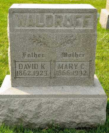 WALDRUFF, DAVID K - Richland County, Ohio | DAVID K WALDRUFF - Ohio Gravestone Photos