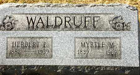 WALDRUFF, MYRTLE M - Richland County, Ohio | MYRTLE M WALDRUFF - Ohio Gravestone Photos