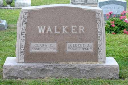 WALKER, CLARA C - Richland County, Ohio | CLARA C WALKER - Ohio Gravestone Photos