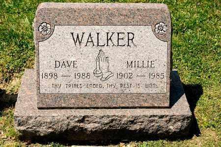 WALKER, DAVE - Richland County, Ohio | DAVE WALKER - Ohio Gravestone Photos