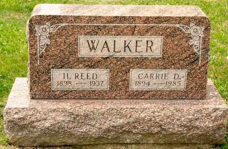 WALKER, H REED - Richland County, Ohio | H REED WALKER - Ohio Gravestone Photos