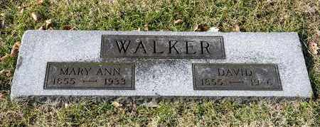 WALKER, DAVID - Richland County, Ohio | DAVID WALKER - Ohio Gravestone Photos