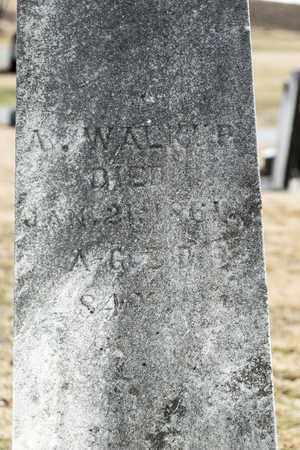 WALKUP, A - Richland County, Ohio   A WALKUP - Ohio Gravestone Photos